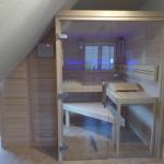 Sauna unter Dachnische