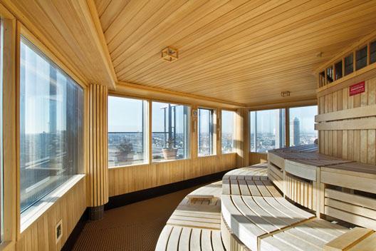 gewerbliche sauna