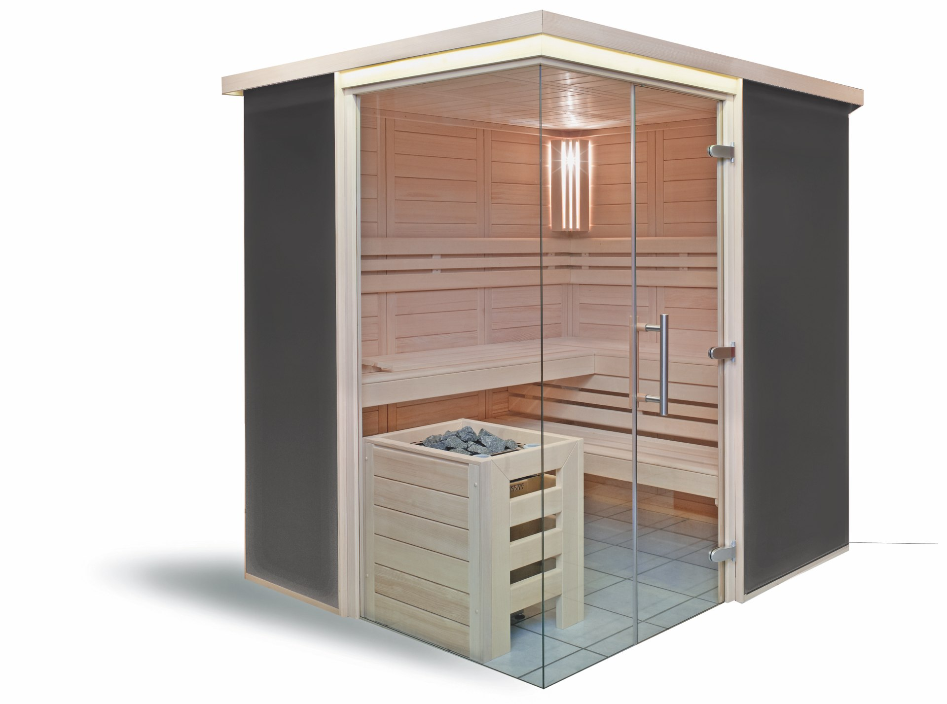 designsauna jetzt ins gl ck mit ihrer eigenen designsauna. Black Bedroom Furniture Sets. Home Design Ideas