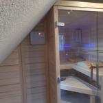 Kundenobjekt Sauna unter Dachschräge